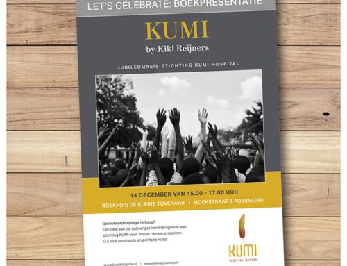 Kiki Reijners Flyer boekpresentatie